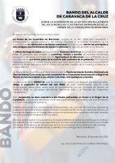 La 43ª edición de la Fiesta de las Cuadrillas, que habría llenado de música y baile las calles de Barranda, queda oficialmente suspendida por la situación de emergencia sanitaria