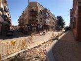 Urbanismo y Calidad Urbana ampl�an las aceras y mejoran la accesibilidad en la escalinata de la calle Perdiz
