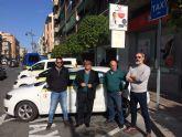 La Concejalía de Movilidad del Ayuntamiento de Molina de Segura pone en marcha una nueva parada de taxi en la Avenida de Madrid