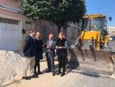 La Comunidad destina más de 160.000 euros al Plan de Obras y Servicios de Las Torres de Cotillas