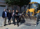 El consejero Carrillo visita los trabajos del Plan de Obras y Servicios