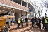 Las obras de ampliación del colegio Juan Navarro García de La Hoya, en Lorca, entran en su recta final