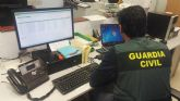 La Guardia Civil desarticula un grupo criminal dedicado a realizar estafas a través de internet a nivel nacional