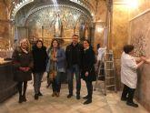 14 alumnos de los talleres de empleo de la Concejalía de Desarrollo Local rehabilitarán la Capilla de la Virgen Milagrosa, ubicada en el Colegio San Francisco de Asís