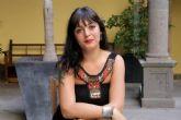 Amelia Tiganus en los encuentros de pensamiento feminista de Cartagena Piensa