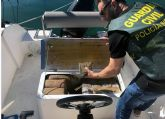 La Guardia Civil desmantela una organización criminal dedicada a la introducción de hachís a través del Mar Menor