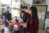 El programa Deporte+Nutrición=salud entra en las aulas del colegio Vicente Ros