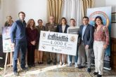 El Cross de la Artillería entrega el cheque solidario de 4.000 euros a la Asociación Española Contra el Cáncer