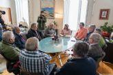 La alcaldesa se reúne con la Plataforma Prosoterramiento de Cartagena