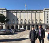 El Ayuntamiento traslada al Ministerio su intención de solicitar la concesión del balneario Los Arcos para uso náutico