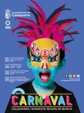Las máscaras y la música tomarán Calasparra durante el Carnaval 2020