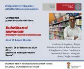 La Sede Permanente de Extensión de la Universidad de Murcia en Totana organiza mañana martes la conferencia-coloquio del profesor José Manuel López Nicolás