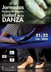 La Concejalía de Cultura organiza las primeras Jornadas Molina de Segura, ciudad de la Danza los días 21 y 22 de febrero