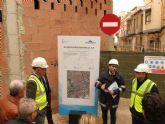 Aguas de Murcia renueva la red de saneamiento de la calle Algezares de  Beniaján