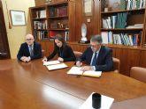 CHS y Federaci�n de Municipios de la Regi�n de Murcia agilizan las limpiezas en cauces urbanos