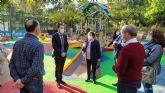 La Comunidad subvenciona un itinerario peatonal accesible en el Parque La Cubana de Alhama de Murcia y una zona de juegos infantiles inclusivos