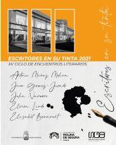 Antonio Muñoz Molina, Juan Gómez-Jurado, Julia Navarro, Elvira Lindo y Elísabet Benavent participan en el programa del Ciclo online Escritores en su tinta 2021 de Molina de Segura