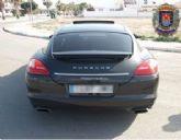 La Policía Local de Los Alcázares interviene un vehículo de alta gama que había sido sustraído
