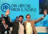 López Miras, reelegido presidente del PP de la Región de Murcia