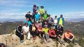 El Club Senderista de Totana organizó una ruta a la Sierra de Almenara para ascender a la cima del Talayón