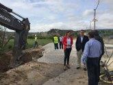 La Consejería de Agua mejora el saneamiento en Archena con la construcción de un nuevo colector