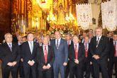 Pedro Antonio Sánchez asiste en Moratalla a la procesión de Jesucristo Aparecido
