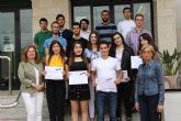 San Pedro del Pinatar premia a alumnos excelentes en bachillerato y grados universitarios