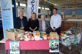 El torneo Pinatar Fútbol Crack recoge más de 200 kilos de alimentos para Amor por Amor