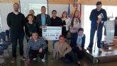 El Club Atletismo La Manga entregó la recaudación del VIII Cross Cabo de Palos a cinco entidades benéficas