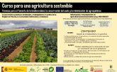Curso sobre agricultura sostenible y fomento de la biodiversidad