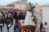 El Vía Crucis congregó a numerosos fieles en Puerto Lumbreras