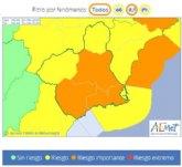 Protección Civil Totana informa de la situación de preemergencia por lluvias en la Región de Murcia