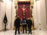 La Cofradía del Cristo de la Agonía colabora económicamente con CÁRITAS CIEZA