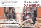 Programaci�n cultural por el D�a Mundial del Libro 2021. Del 16 de abril al 10 de mayo