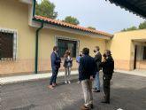 La Comunidad invierte 242.000 euros en mejorar la Base de Brigadas Forestales y de Intervención Rápida de Las Pinas, en Caravaca de la Cruz