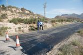 Nuevo asfaltado en caminos rurales