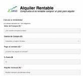 Nace Alquiler Rentable, el simulador gratuito e independiente para ayudar a los inversores a calcular la rentabilidad de comprar para alquilar