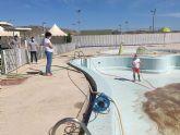 Puerto Lumbreras prepara sus piscinas de verano para la temporada estival, con todas las medidas de seguridad frente a la COVID-19