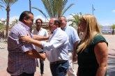 Pedro Antonio Sánchez: 'Estamos desarrollando un modelo turístico de calidad, excelencia y servicios que interesan a la Región de Murcia'