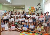 Los niños de Puerto Lumbreras se convierten en Detectives de Biblioteca