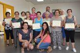 Se clausura el programa municipal de Gimnasia para Personas Mayores en El Paretón