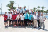 El Campeonato de España de Petanca re�ne en Puerto de Mazarr�n a m�s de 100 participantes