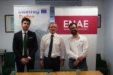 Dronica y Cella firman convenio con ENAE dentro del proyecto Links Up