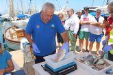 El primer Open de Pesca en embarcación fondeada 'La Marina Mercante' congrega a 30 participantes