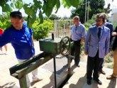 La Comunidad realiza obras de mejora en el camino del Olivar y Acequia Mayor de Alguazas