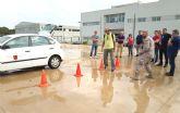 84 empleados públicos participan en cursos de conducción segura para reducir la siniestralidad