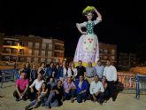 La tradición huertana protagoniza la hoguera de San Pedro del Pinatar