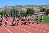 Lorca y Alhama se reparten el protagonismo de la competición regional en pista