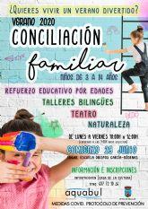 Talleres bilingües, de ocio y de refuerzo educativo para la conciliación de las familias