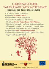 San Pedro del Pinatar ofrece una ludoteca cultural gratuita dirigido a niños de 6 a 12 años